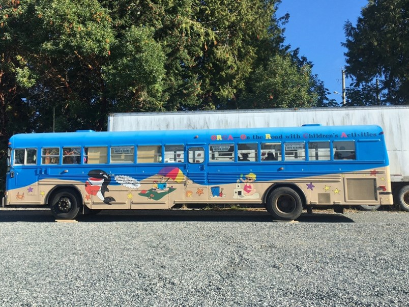 ORCA bus Powell River