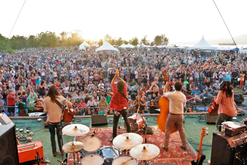 The Vancouver Folk Music Festival takes over Jericho Beach Park for three days of inspiring sounds a