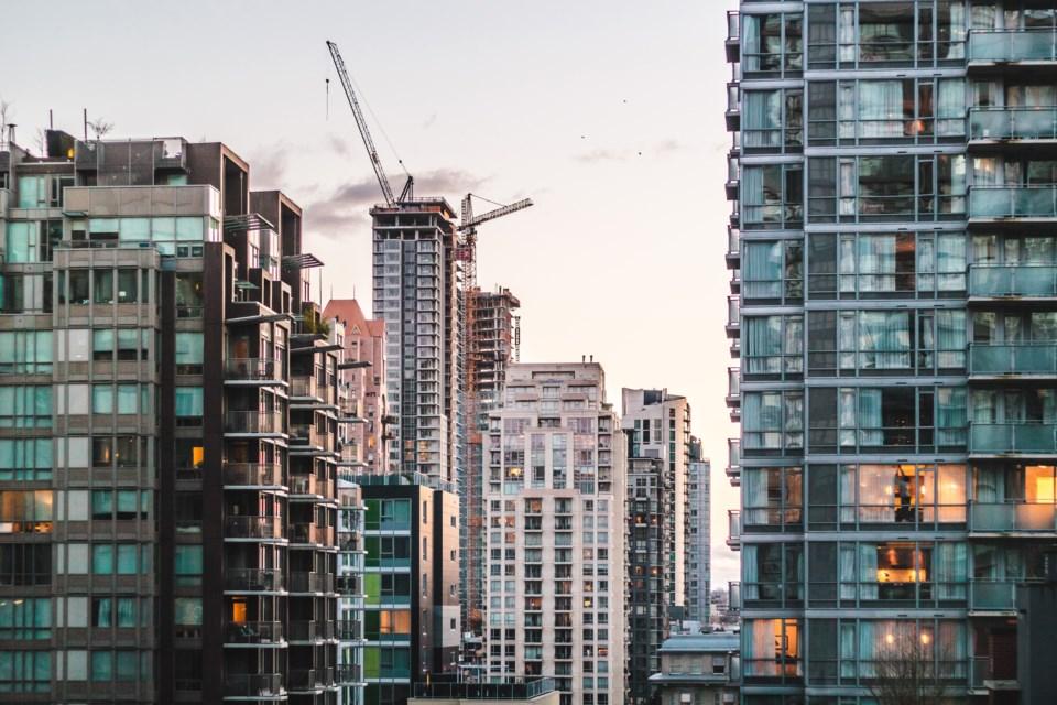 Condos apartments buildings construction Vancouver