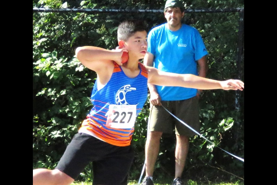 Kajaks produced a number of outstanding showings at the BC Junior Development Track and Field Championships in Surrey.