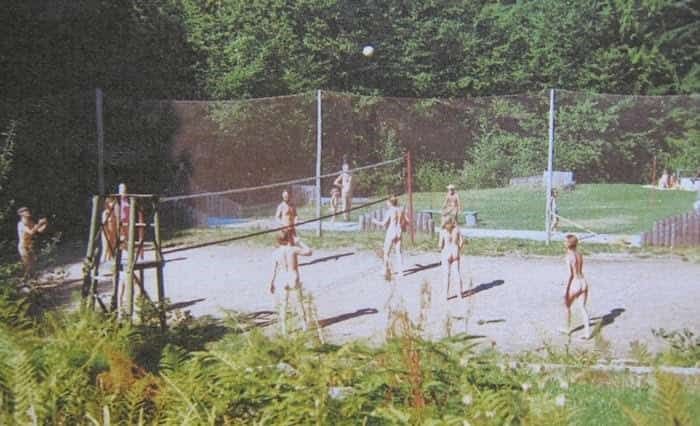 Nudist family camp