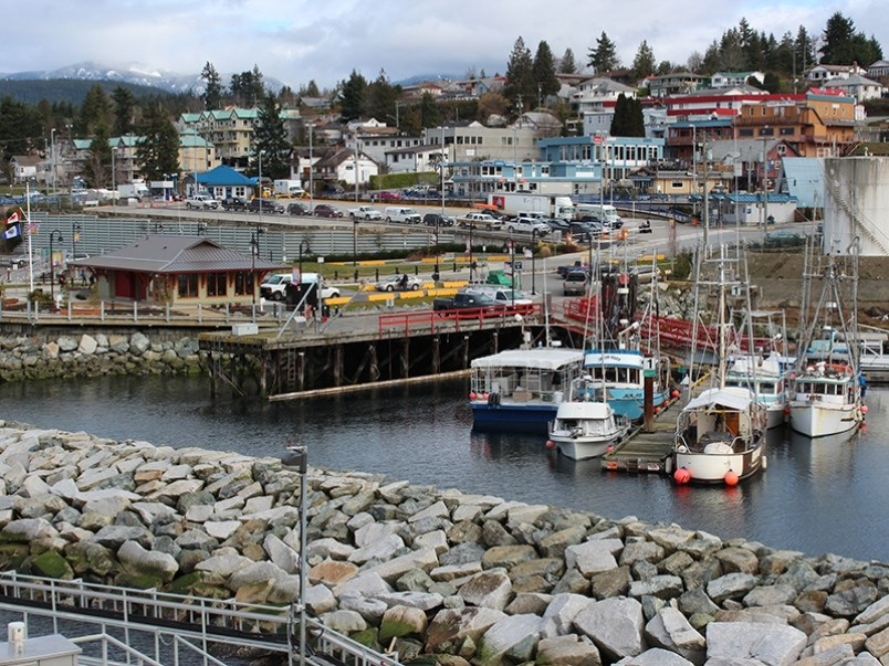 Westview Terminal in Powell River