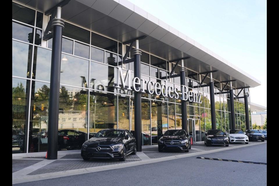 Mercedes Boundary Exterior