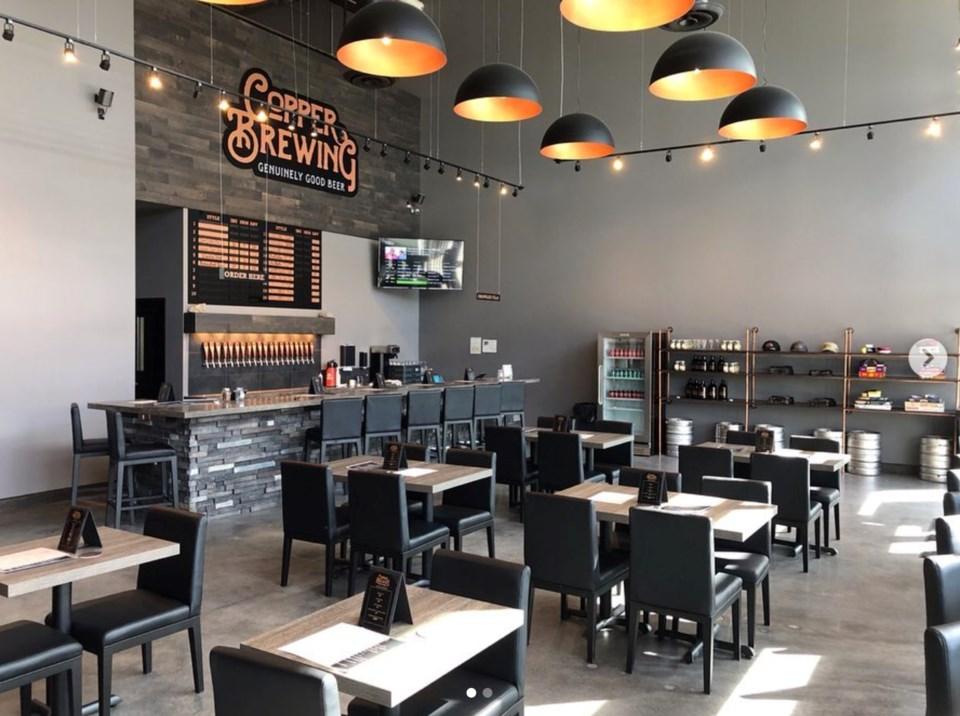 Copper Brewing opened this week in Kelowna. Photo @copperbrewing/Instagram