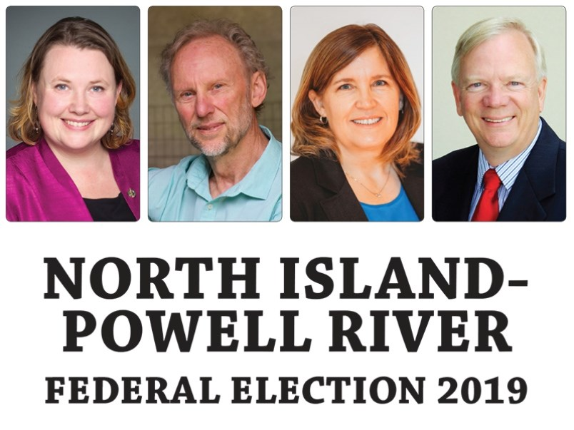 North Island-Powell River federal election candidates