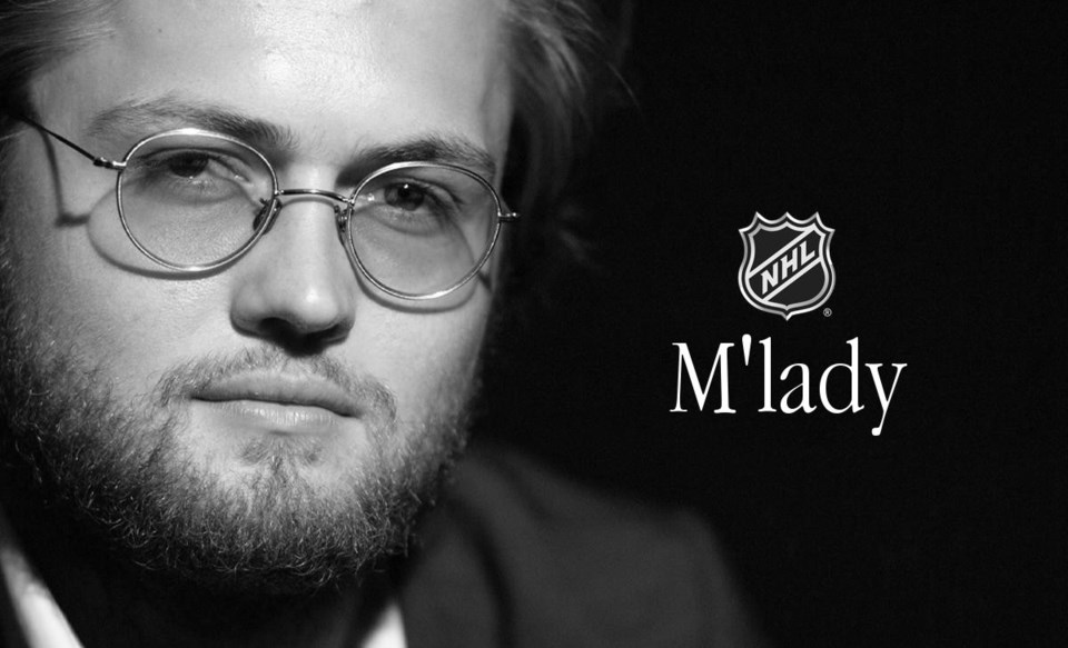 An edited version of William Nylander tweet by @NHL