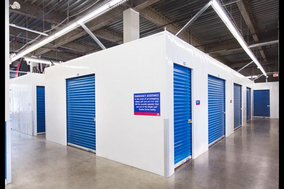 Maple Leaf Self Storage's newest storage facility in North Vancouver