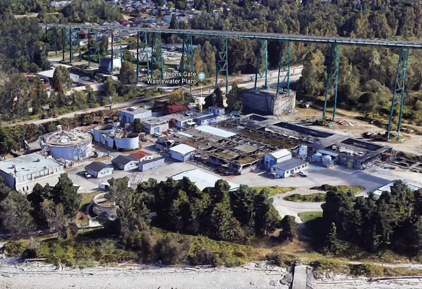 Lions Gate sewage plant