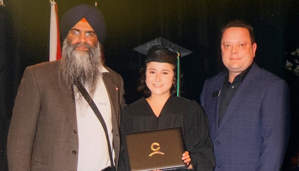 Natalia Malagon of Burnaby exemplifies what it means to be a 2019 Standing Tall Award recipient.