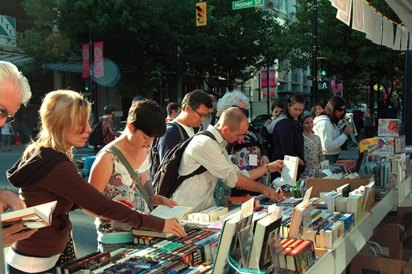 Avid readers, creative writers and literature lovers will want to head to Library Square Sunday for