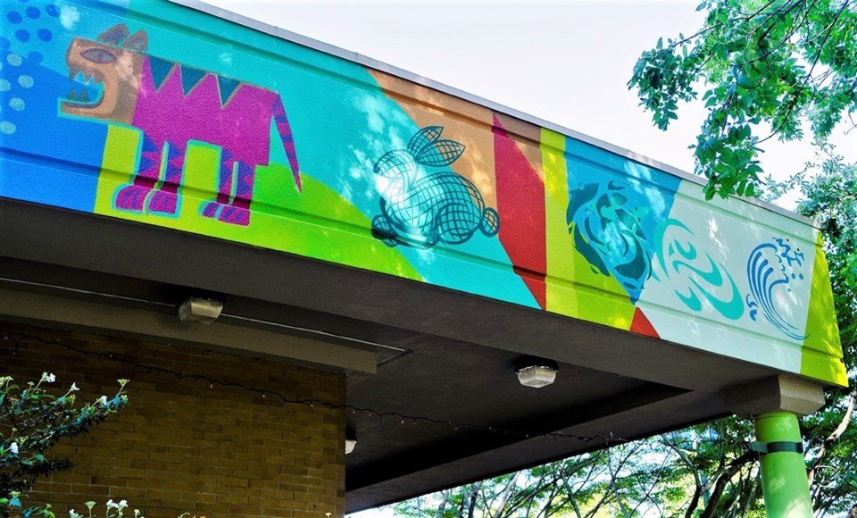 cultural centre mural