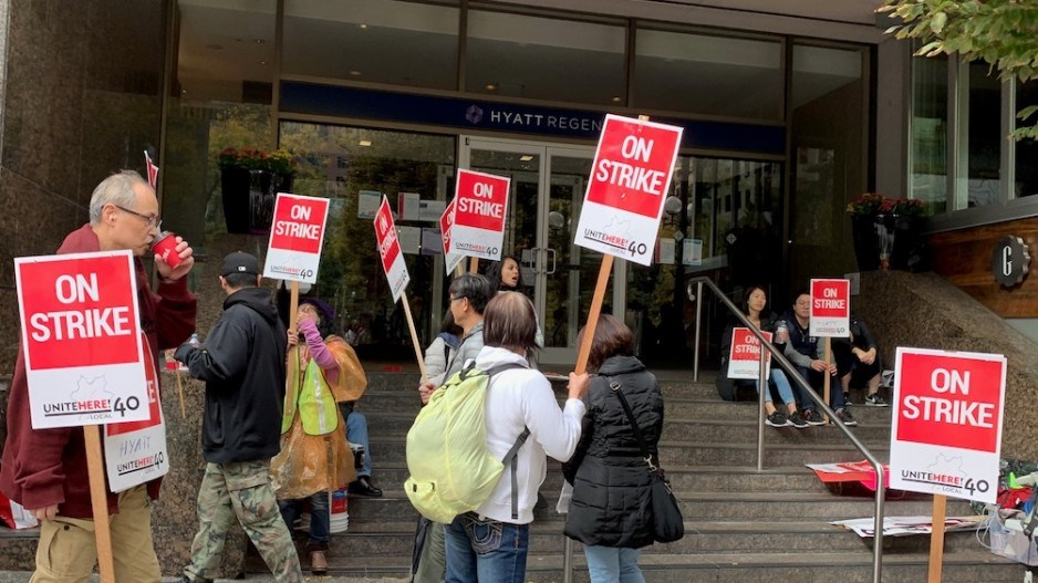 hotel strike