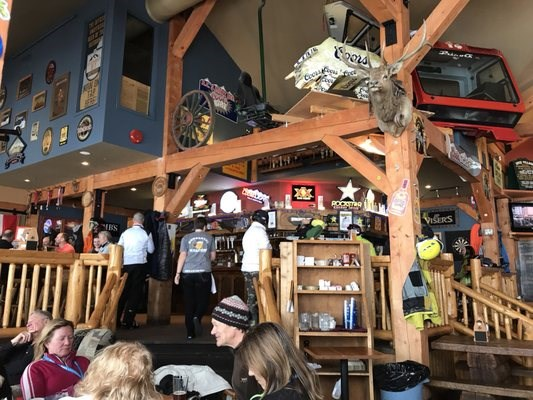 The Gunbarrel Saloon is the quintessential Canadian aprés ski pub. Photo contributed