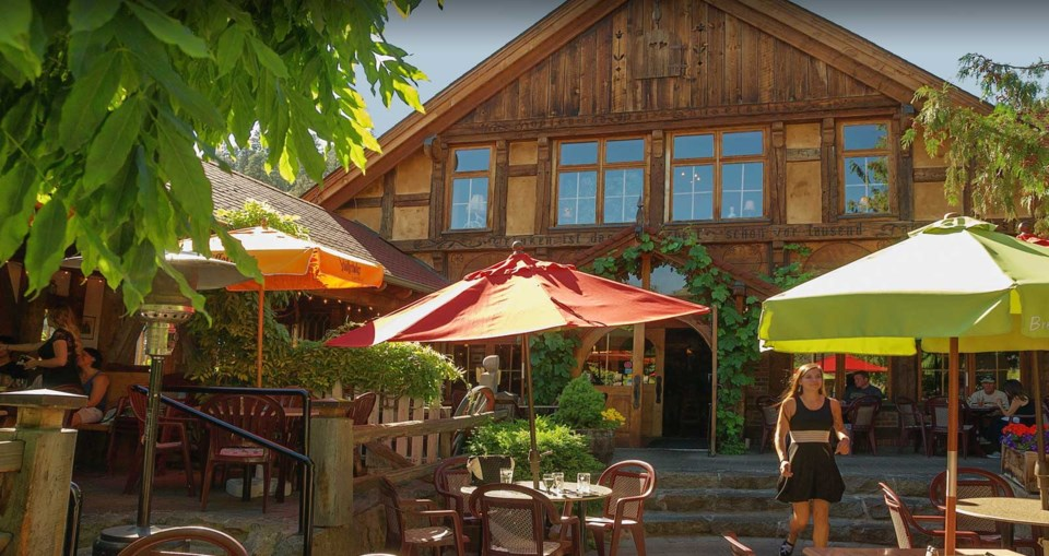 Peachland's Gasthaus has to be seen to be believed. Photo contributed