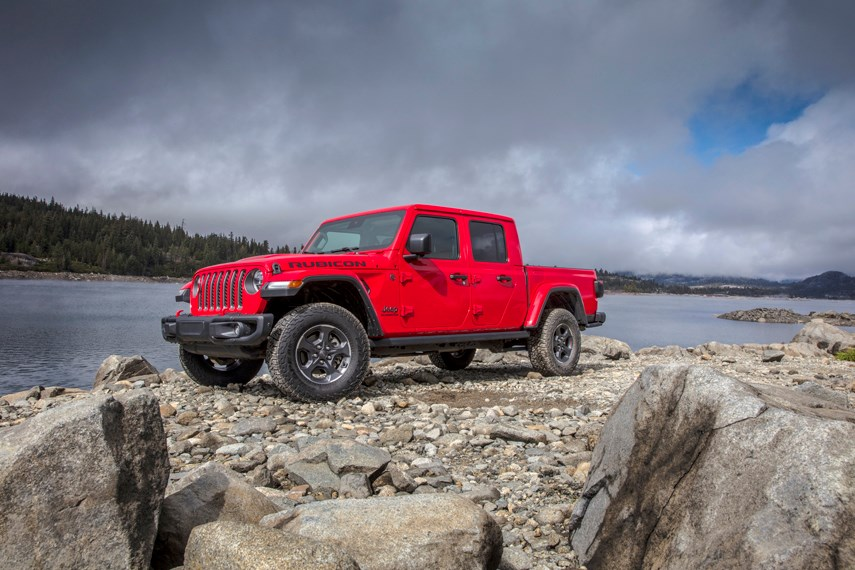 The Gladiator is a new pickup version of the popular Jeep Wrangler, offering Jeep's patented off-road prowess and fun-to-drive factor with the addition of a useful truck box. It is available at Destination Chrysler in North Vancouver. photo supplied Jeep