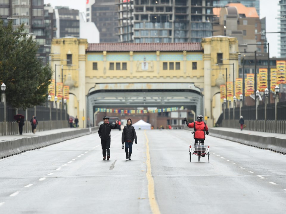 Climate-protest actions like the one that closed down Burrard Bridge in Vancovuer on Monday are u