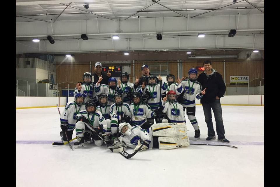 First place finishers North Vancouver C1.