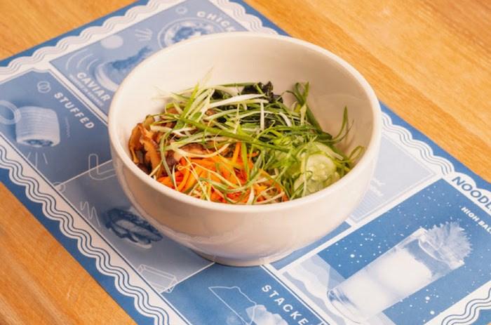 Momofuku noodles. Photo courtesy Westbank