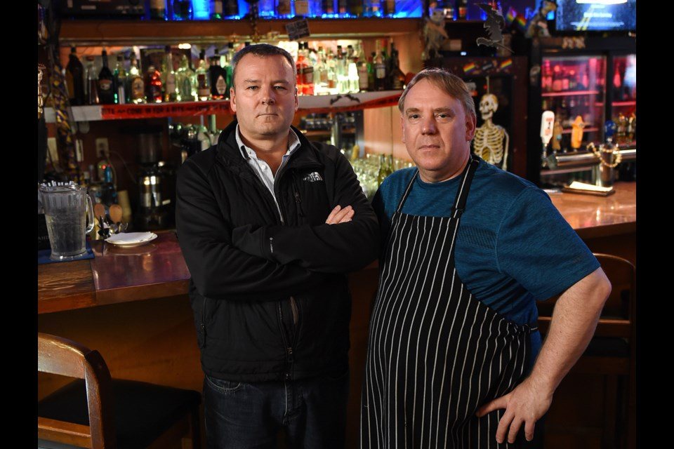 Ouisi Bistro owner Rob Clarke and chef Darcy Fry will close up shop Oct. 26 after 25 years in business.