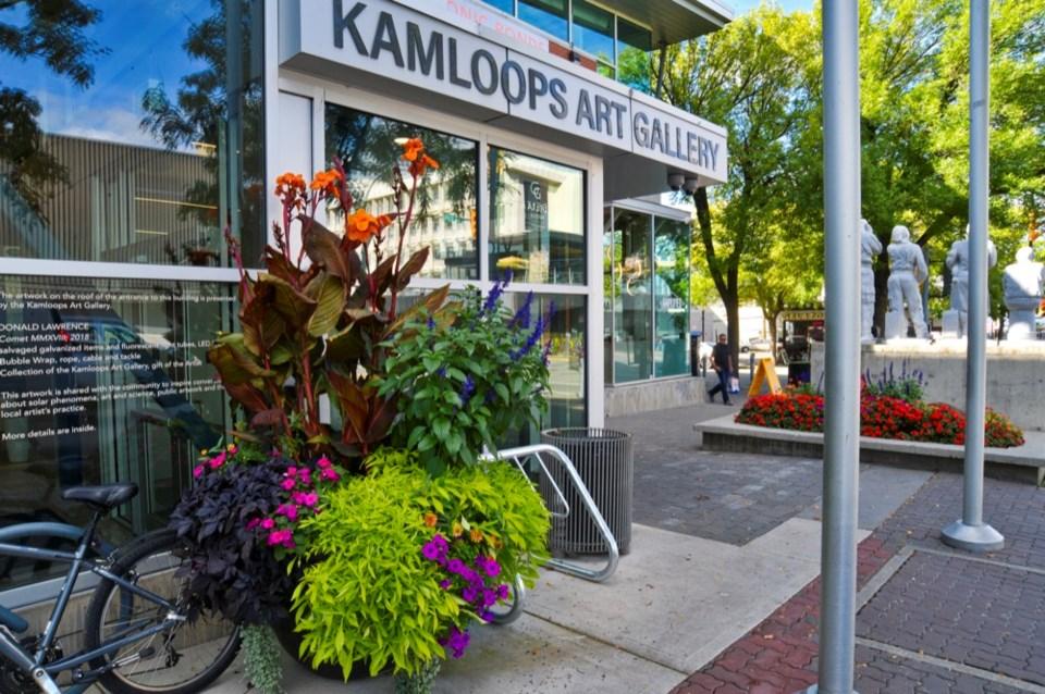KAG kamloops art gallery exterior