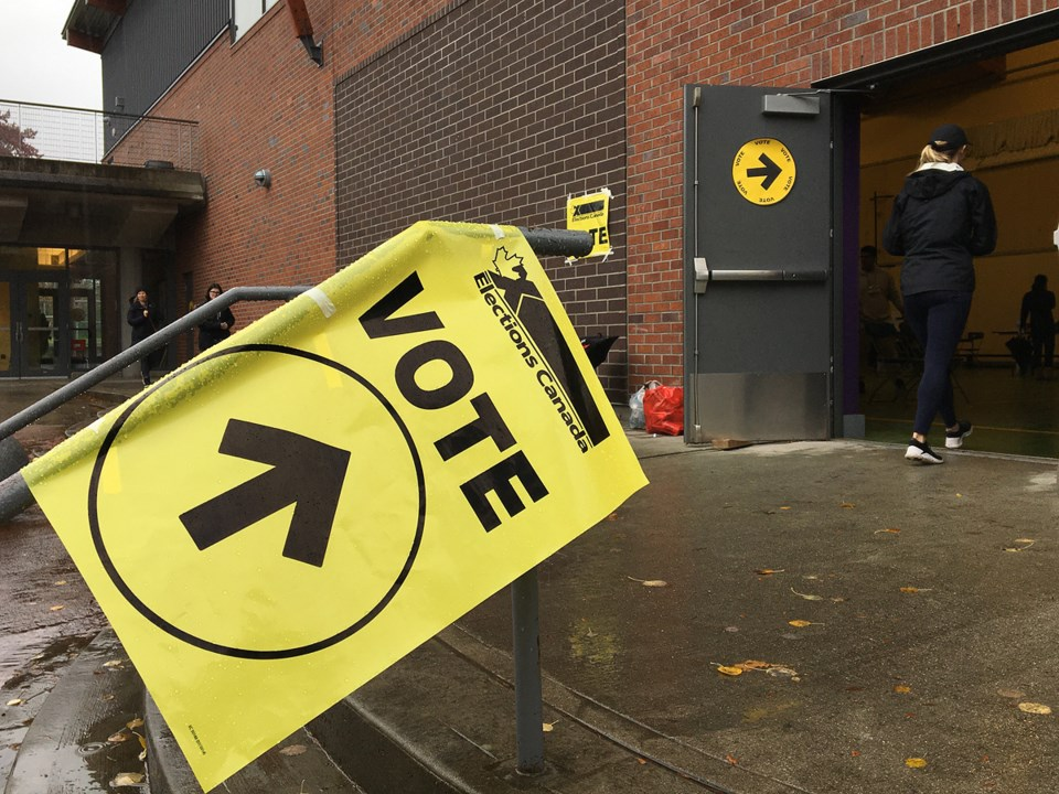 We're live blogging the crap out of tonight's federal election in Vancouver. Photo Dan Toulgoet