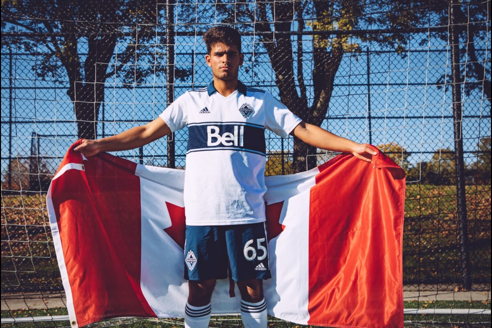 Burnaby's Deylen Vellios will be representing Canada as a member of the national under-17 team at the FIFA u17 World Cup in Brazil.