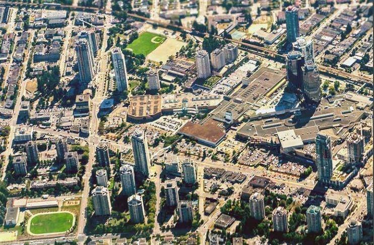 metrotown aerial