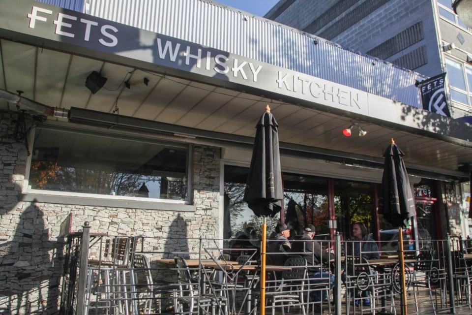 Fets Whisky Kitchen has been a Commercial Drive mainstay since 1986. Photo Kevin Hill