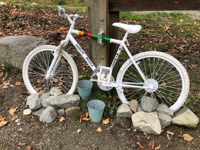 ghost bike burnaby