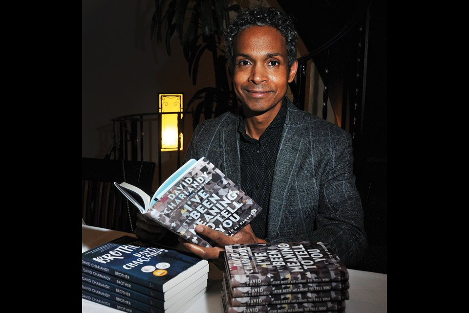 Featured author David Chariandy spoke about the importance of libraries for writers at the West Vancouver Memorial Library Foundation fundraiser on Oct. 22. Chariandy, a professor in Simon Fraser University's English Department, teaches contemporary literature, and specializes in Black, Caribbean, and Canadian fiction.