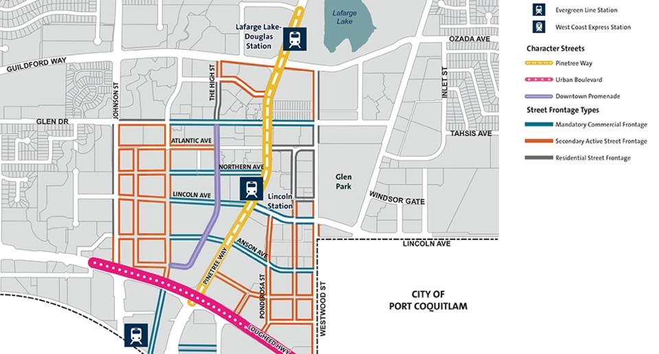 Bars, restaurants and a school included new Coquitlam City Centre plan_1