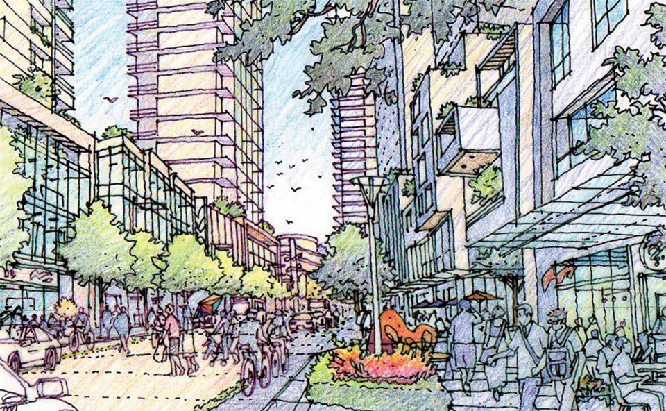 Bars, restaurants and a school included new Coquitlam City Centre plan_3