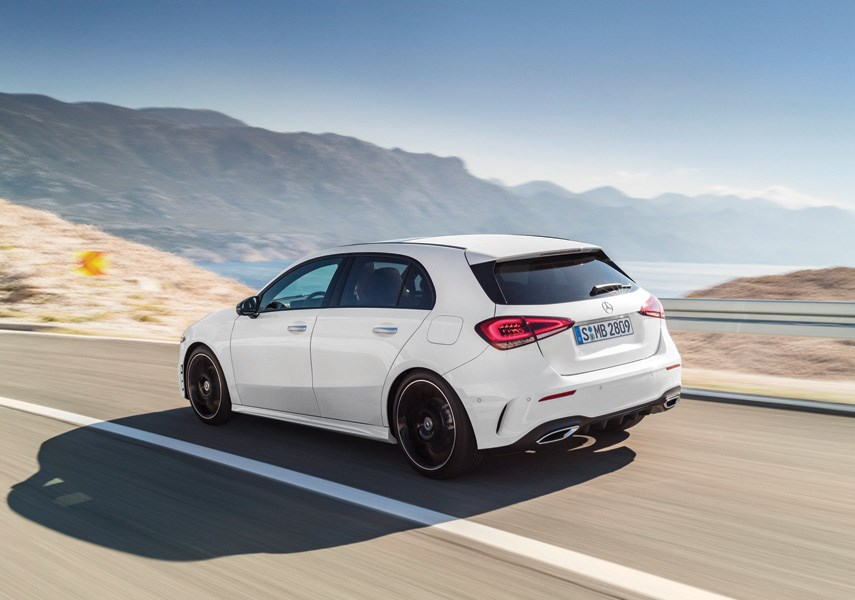 The hatchback version of the Mercedes-Benz A-Class is only available in Canada, a premium little commuter car that is above the competition in interior quality. The A-Class is available at Mercedes-Benz North Vancouver. photo supplied Mercedes-Benz