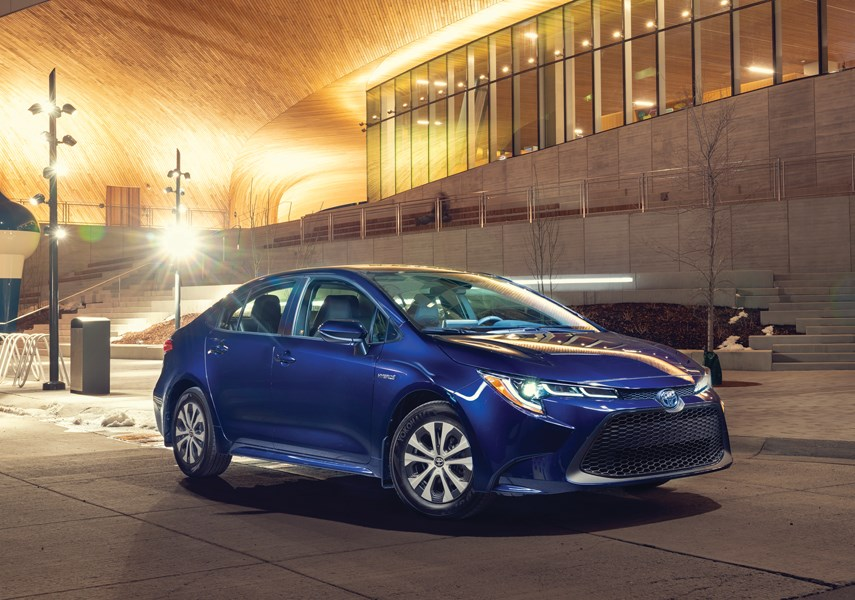 The Toyota Corolla Hybrid may not be wildly exciting, but it is still a seriously impressive piece of machinery that is easy to own and inexpensive to operate. It is available at Jim Pattison Toyota in the Northshore Auto Mall. photo supplied Toyota