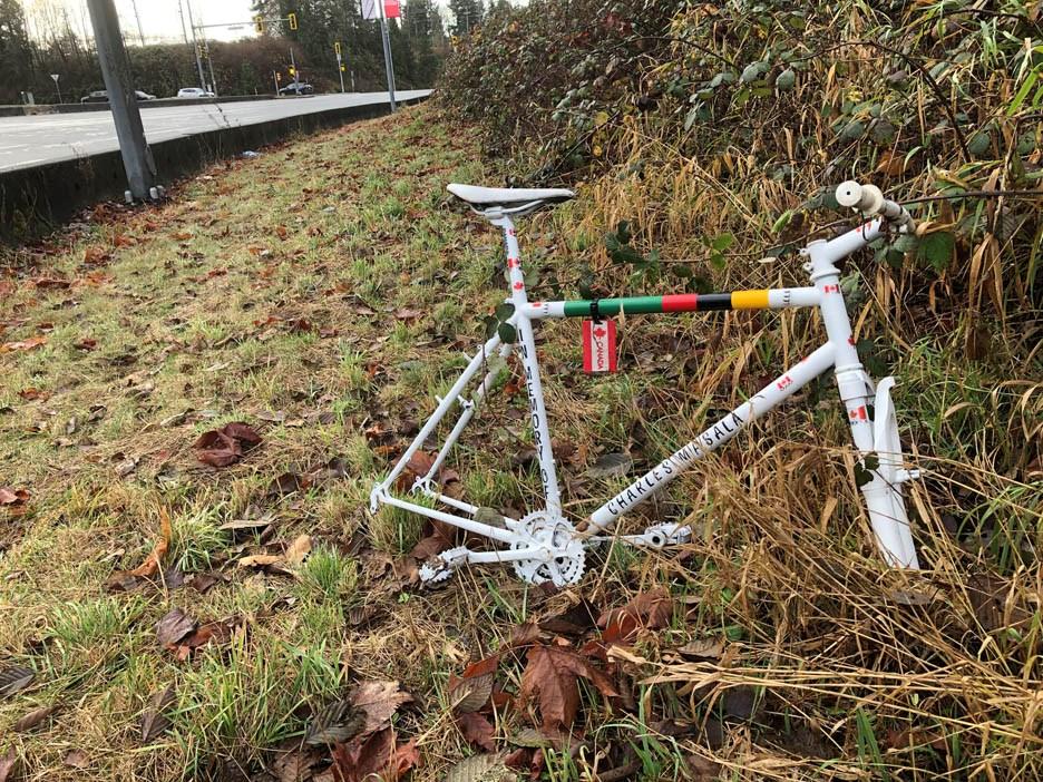 charles masala ghost bike burnaby
