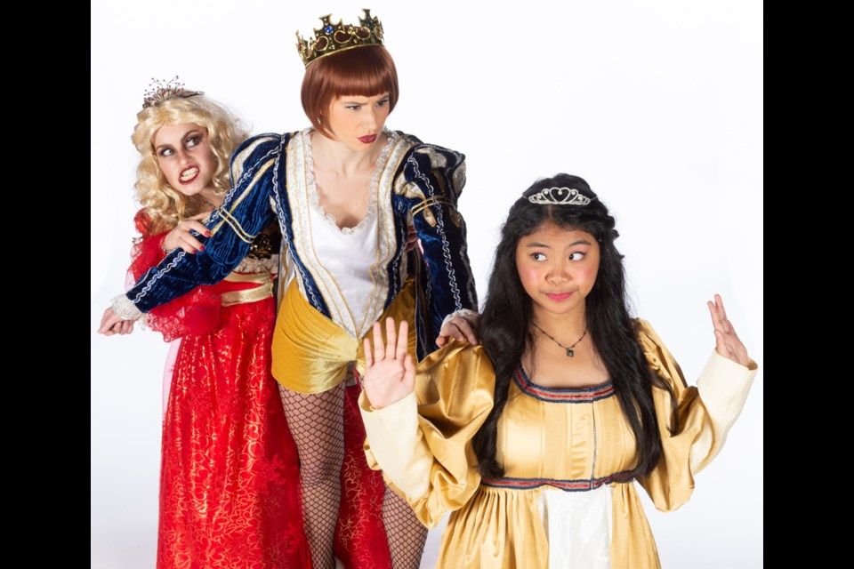 The Royal Canadian Theatre Company returns to Massey Theatre with its annual holiday panto, Snow White, Jan. 3 and 4.
