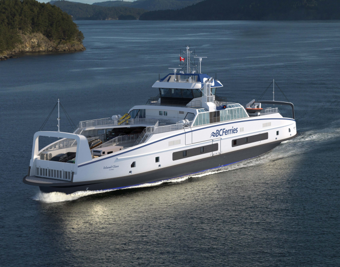 bc ferries electric ferry
