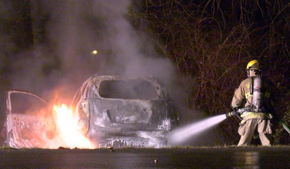 burnaby car fire
