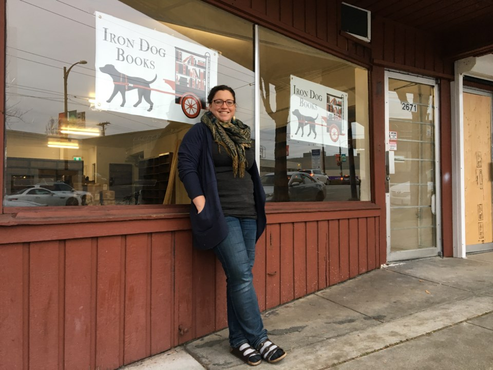 Hilary Atleo, and her husband Cliff, are parking their mobile bookstore Iron Dogs Books and setting