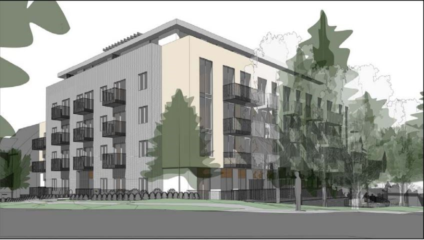 Jameson Development has applied to build a five-storey rental building at 1805 Larch St. at West Sec