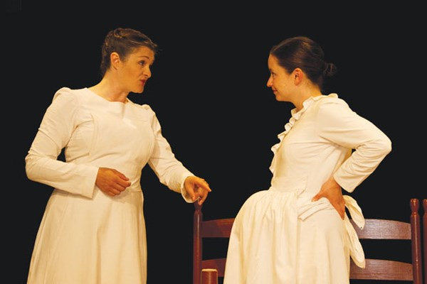 Gillard-Rowlings shares the stage with co-actor Willow Kean who plays numerous roles throughout the play.