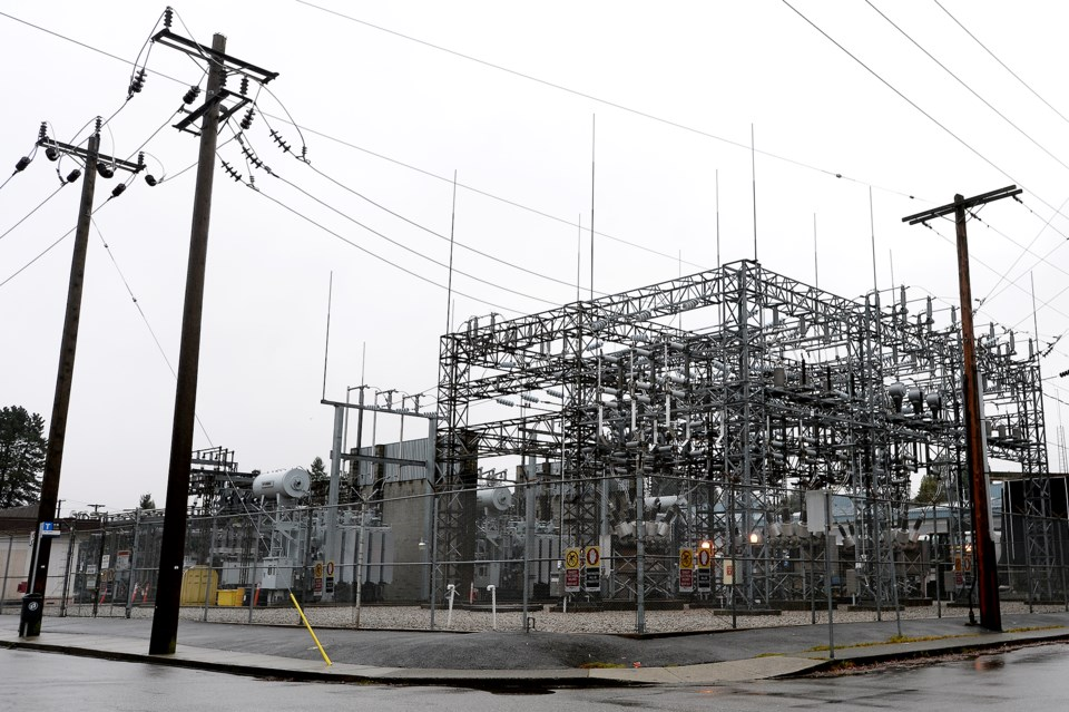New Westminster electric power