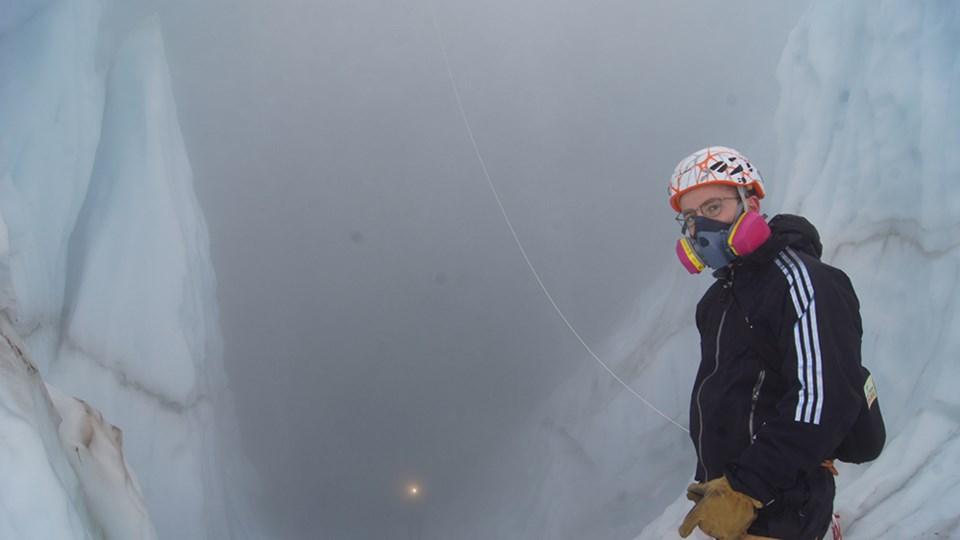 Mason Pitchel on the Job Glacier
