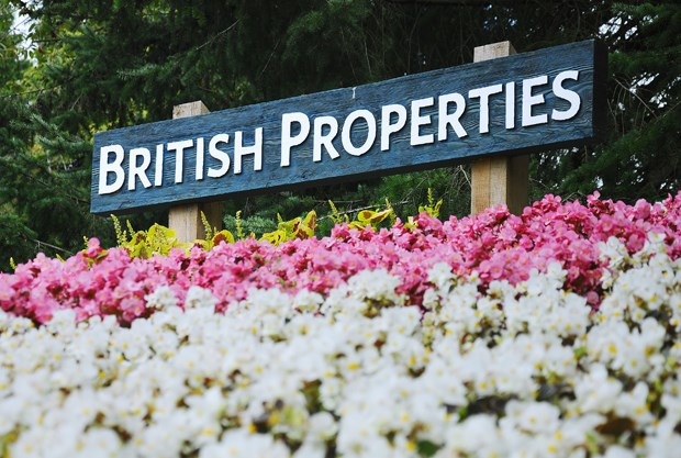 British Properties sign