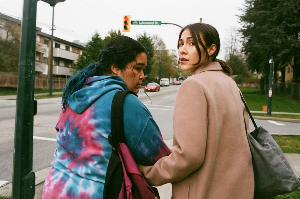 Elle-Máijá Tailfeathers and Violet Nelson star in The Body Remembers When the World Broke Open.