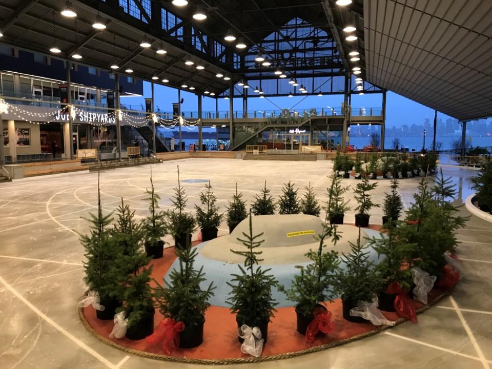 North Vancouver Shipyards skating rink opens Thursday_4