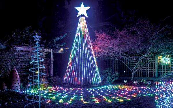 A Halfmoon Bay home illuminated with lights that twinkle in time to music is just one of many ambitious Christmas light displays on the Sunshine Coast this season.