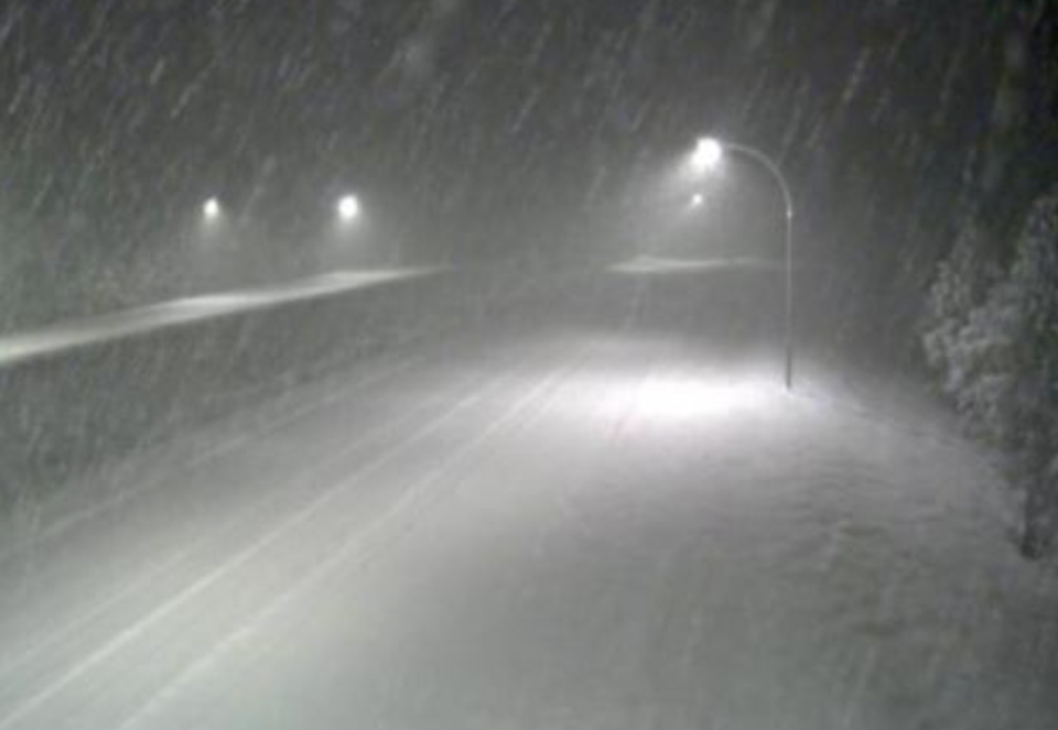 snow Coquihalla