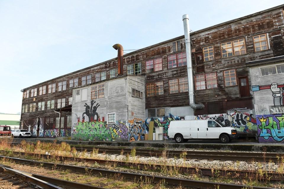 A former feather mattress factory, 1000 Parker now contains 110 studios, which serve 227 artists, de