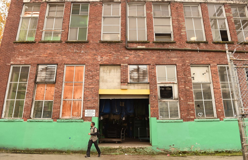 The Alsco laundry facility in Mount Pleasant is one industrial heritage building that remains in ope